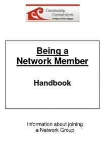 thumbnail of Handbook-being a network member