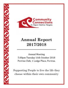 thumbnail of Community Connections Annual Report 2017-2018