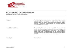thumbnail of Rostering Coordinator Job Description.docx